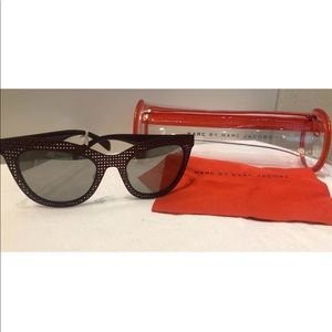 Marc by Marc Jacobs Cat Eye metal sunglasses